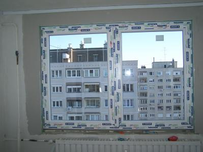 Műanyag ablakcsere panellakásban