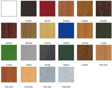 A választható színek